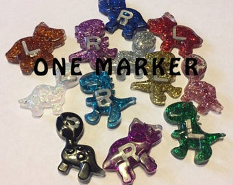 ONE MARKER Dinosaur Lead Markers/Xray Markers