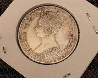 U.K. Gothic coin - replica