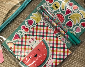 Target Fruit Themed Stationary Set