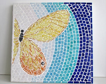 "Table tiled ""Butterfly"""