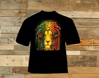 Rasta Lion w/ Headphones