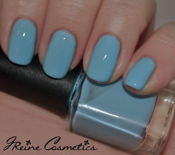 Blue Nail Polish Names: Baby Blues Blue Creme Nail Polish