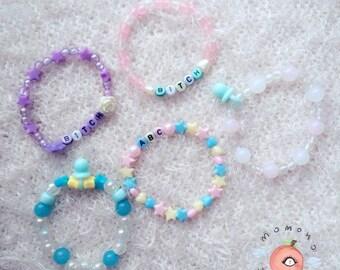 Kawaii braceletes