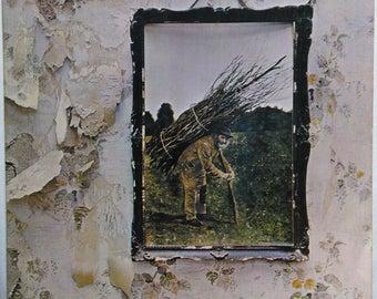 Led Zeppelin 4 ZoZo Hardrock Lp Page Plant Bonham Atlantic