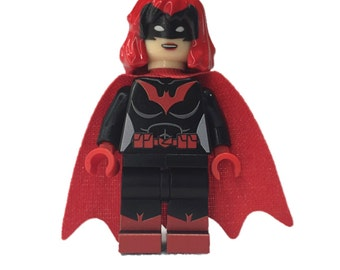 LEGO minifigures Custom -  Batwoman Beyond Made with Original LEGO Parts