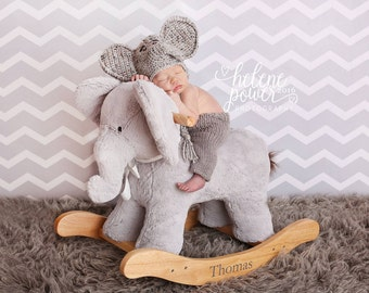 Baby Elephant Hat, Made to Order