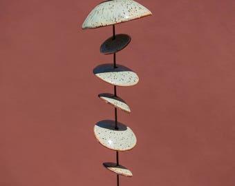 Ceramic Wind Chimes -  2 1/2 feet