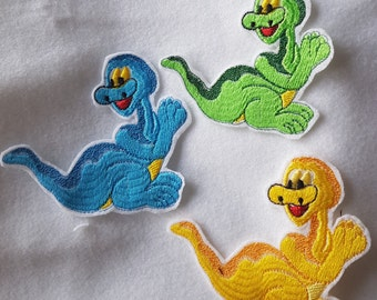 Application, Dino, iron-on patches