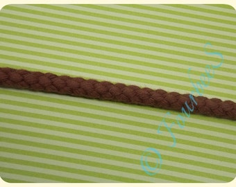Brown cord 8mm - 1m