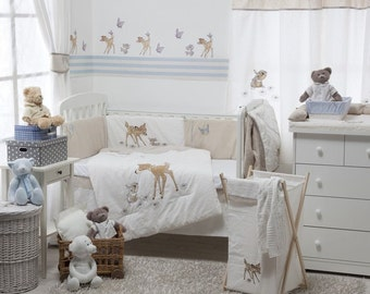 Dearest Bambi 4 Pc Crib Bedding Set