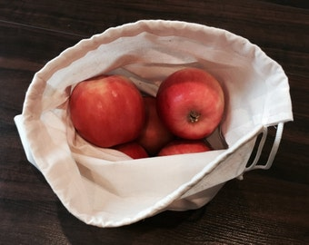 Reusable Produce Bag (Set of 5 - Two Sizes)