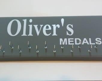 Personalized race medal holder - Race Medal Holder - Running Medal Holder - Sports Medal holder - Marathon - 5K - 10k - mini marthon - medal
