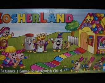 Kosherland board game A Beginner's Game For A Jewish Child Ages 4-7