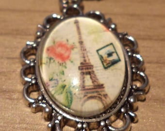 Necklace Paris, necklace, Eiffel Tower