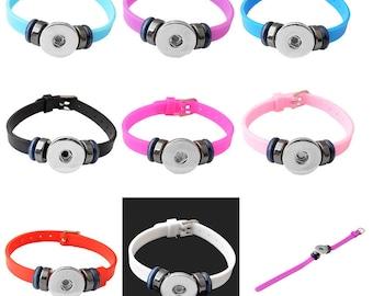 Children's Snap Button Charm Bracelet