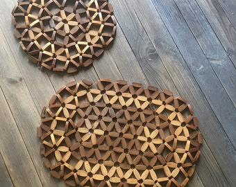 Vintage trivets from Germany