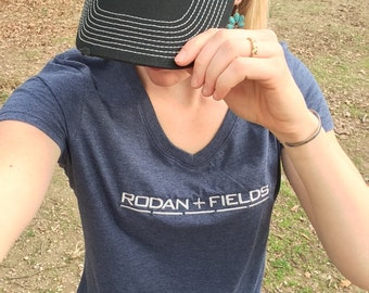 Rodan + Fields, Rodan + Fields clothing, Rodan + Fields T-Shirt, R+F V-Neck