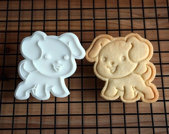 Welcoming Dog Cookie Cutter and Stamp