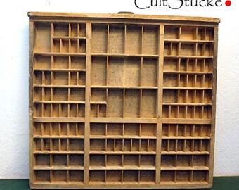 Vintage wash of letterpress wood (6)