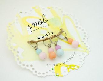 Godis / Sweet Stitch Marker Set