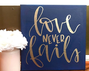 Love Quote Canvas Amazing Love Quote Canvas  Etsy