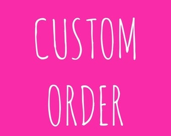 Custom Digital File/Digital Chalkboard Poster File/Birthday Chalkboard File