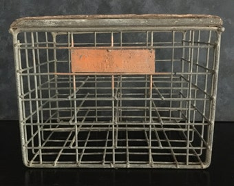 vintage Australian brewery crate, food photography prop, food styling prop