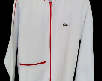 Vintage 90s Jacket Lacoste with red Strips
