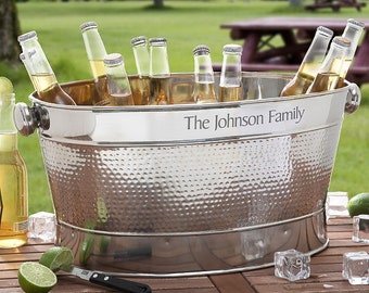 Personalized Engraved Party Tub