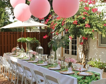 Giant Pink Balloon   Large Pink Balloon | Giant Balloon | Wedding Balloons  | Big Pink