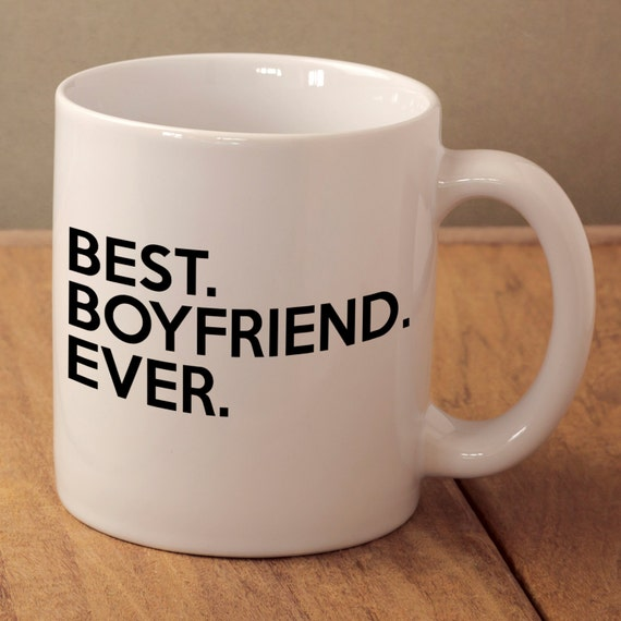 Best boyfriend ever boyfriend valentines gift best boy mug for Best birthday present for a boyfriend