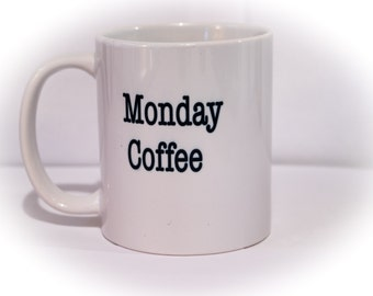 Monday Coffee by the gallon kind of day                             tea/espresso/machine/bean/cup/quality/funny/humor