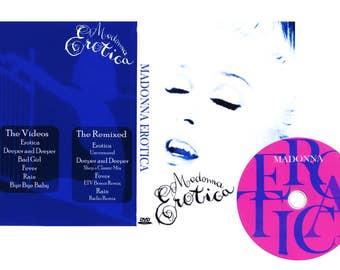 Erotica Deluxe Edition DVD - Madonna