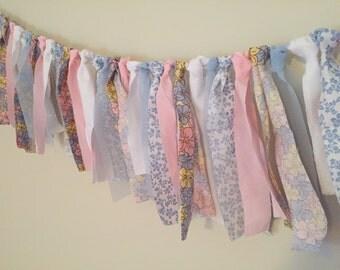 Shabby Chic Garland   Baby Shower   Wedding   Bridal Shower   Bedroom Decor