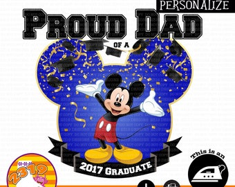 Proud Dad Of A Grad Shirt printable iron on, Grad Family Shirt iron on, Class Of 2017 Shirt ironon, 2017 Grad Iron On, Class Of 2017 Iron On