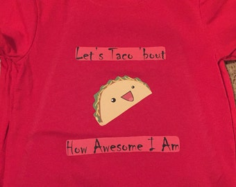 Taco toddler boy tee