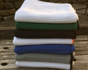Monogrammed Microfiber Golf Towel | Personalized Golf Towel | Golf Gift | Father's Day | Gift for Him | Valentine's Gift | Groomsmen Gift