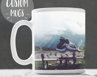 Custom Mug - Personalised Family Picture Mug, Personalised Mug, Family Photo Mug, Family Mug, Portrait Mug, Family Gift, Gift For Parents