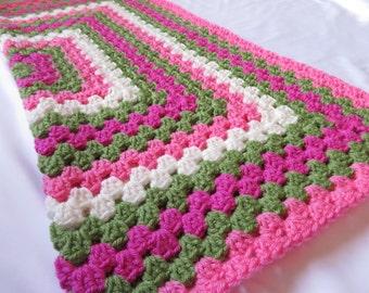 Watermelon*Crocheted*BabyBlanket