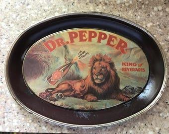 Dr. Pepper Tip Trays set of 2