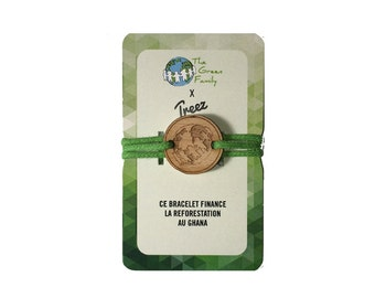 Bracelet wood Treez