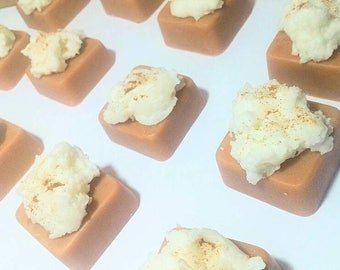 Chai latte - wax melts - coffee lover - soy wax - coffee candle - latte art - starbucks - hot drink - coffee and tea - chai tea - scented