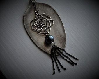 Vintage Spoon Necklace #685
