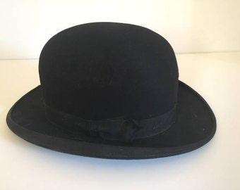 Dobbs Antique Bowler-Style Derby Hat