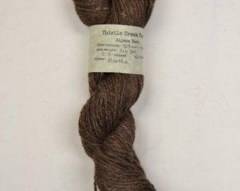 Martha; Alpaca blend, DK 3-ply, yarn