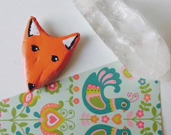 Magnet Fox / / Fox magnet / / Handmade magnet / / Magnet handmade