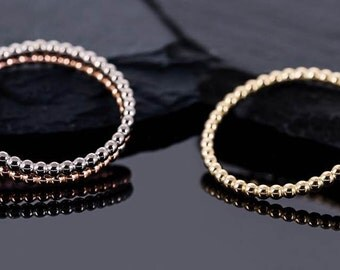 THE ball ring from 750 Redgold