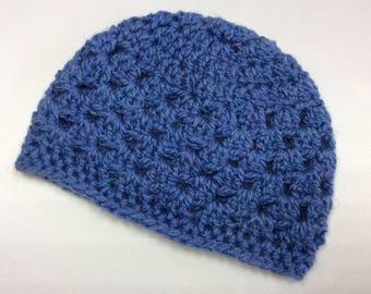 Crocheted Newborn Baby Hat