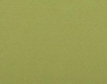 Felt - green craft felt / green pea / pea 1 mm 40 x 45 cm