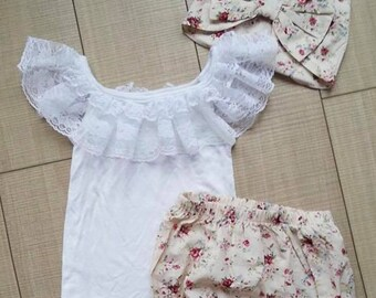 3 Piece Floral outfit